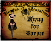 ~SS~Shurg for Corset