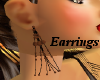 (AA) Wooden Earrings