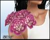 D-Floral Corsage Purp
