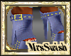 cus. shimmerme boot blue