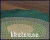 [kk] Sea Round Rug