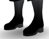 [E71] Solid Black Boots