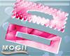 *MG* Pinky Hair Clips
