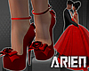 KLAS Xmas Night Red Shoe