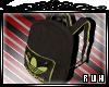 [R] Black Backpack