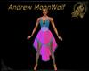 MW Goddess Halter Dress