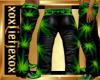 [L] Happy Leaf Pants M