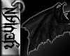 [Yev] black Dragon wings