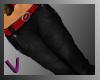 [ves]Denim with belt
