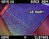 |< Go Away! Skirt!