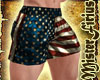 Muscle Shorts 4th July