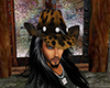 Cowboy Hat Jaguar Print