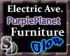 Planet Purple Chaise