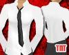 Frost Shirt/Black Tie