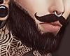Mustache Beard Full