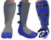white ninja boots