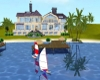 island holiday villa