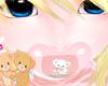 Kids Cuddly Teddy Paci