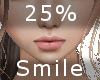 25% Smile F A