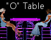 """""""O"""" Club Table for 4"""