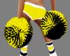 {LA} Steelers pompoms