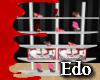 Edo shoes shelf