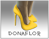 *Dona*Yellow Heels