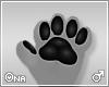 ! Black Furry Paws