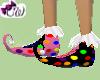 Pink Clown Shoes