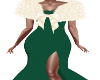 Buffy Green Gown/Fur