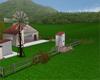 Rains Shabby Chic Ranch