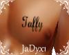Taffy Chest Tattoo