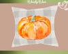 Fall Pillow Pumpkin Ging