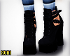 ! Strap Boot Just Black