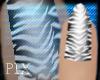 Dainty Hands Zebra Nails