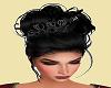 Black wedding hair