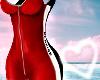 $ Red Bodysuit RLL