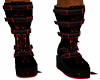Red Spike Boot (M)