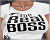 K The real boss