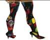 LooneyToon Pointed Heels