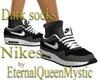 Sneakers with dark socks