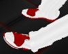 [MIZ] Red Wht Tuxe Shoe