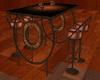 ~TQ~Club Table Set