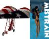 ! USA FLAG GLIDER 4TH