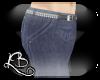 [L] Blue Stars Pants