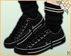 K|SailorBlackSneakersV.2