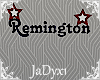 Remington Name Sign 2