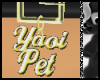 ^j^ Yaoi Pet BlackGold