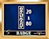 2020 Silver Vert. Badge
