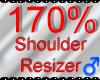 *M* Shoulder Resizer 170